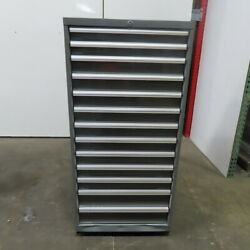 13-drawer Industrial Parts Tool Storage Shop Cabinet 30x28x59