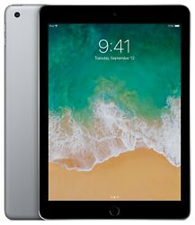 Lot Of 11 Apple Mp2f2ll/a Ipad 5th Gen 32gb, Wi-fi, 9.7 Inch Tablet - Space Gray