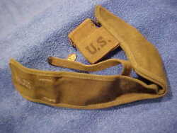 Wwii Us Military Ww2 M1910 Pick Mattock Intrenching Axe Canvas Cover Carrier Amr
