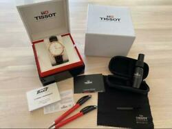 Tissot Vintage Powermatic 80 Used Watch 18k Butterfly Clasp Mint Condition