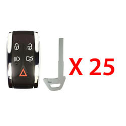 New Replacement For Jaguar 2007-2015 Prox Smart Remote Fob Kr55wk49244 25 Pack