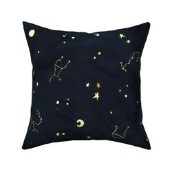 Astrology Star Sign Throw Pillow Cover W Optional Insert By Roostery