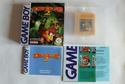 Nintendo Game Boy Fah - Donkey Kong Land 2 / Complet Tbe 1andegravere Andeacutedition .