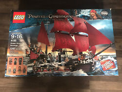 Lego 4195 Pirates Of The Caribbean Queen Anneand039s Revenge Factory Sealed/brand New