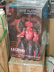 State Of The Art Toys Now Playing Presents Legend The Lord Of Darkness Statue M