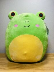 Squishmallow Wendy The Frog 14 Inch Tall - Plush Toy Kellytoy