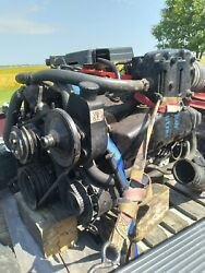 Mercruiser 350 Mcm260 Engine With Complete Drive Unit 5.7 Boat Chris Craft