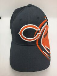 Chicago Bears Reebok Football Ball Cap Hat Adjustable Pre Owned