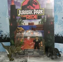 Jurassic World Legacy Collection Ian Malcolm Figure And Trex Triceratops