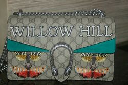 Dionysus Willow Hill Embroidered Handbag New With Tags
