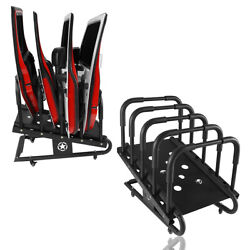Car Door Holder Storage Steel Cart Movable Assembly For Jeep Wrangler 07-21 And Jt