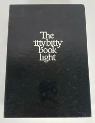 The Itty Bitty Book Light Vintage 1982 Zelco Ac Adapter Extra Bulb Battery Case
