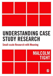 Malcolm Tight-understanding Case Study Research Uk Import Bookh New