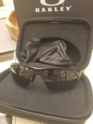 Si Speed Jacket Sunglasses With Bag And Case.