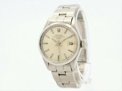 Rolex Oyster Perpetual Date Automatic Steel Ladies Ref.6516