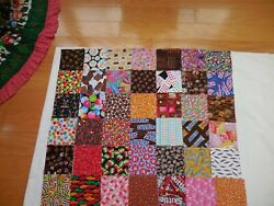I Spy 42 5 Charm Pack - All Candy Novelty Quilt Fabric Squares Cotton- No Dups