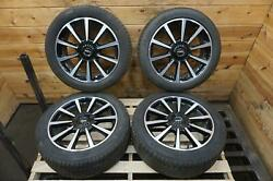 Set Of 4 19x8 Wheel Rim And Tire Et55 5x108 Gd9z1007j Lincoln Continental 2017-20