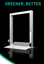 Portable And Adaptable Disinfection Module - Cleaning Grocery Shopping Carts