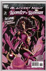 Wonder Woman-blackest Night 1-3 And Variants 6 Issues Sook, Horn Covers
