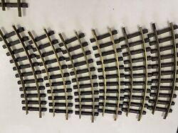 6 Pack Lgb G-scale 1100 Curved Brass Track 30° R=600mm, Free 2-3 Day Ship