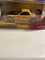 Jada Option D 124 Mazda Rx-7 Super Rare Packaged Incorrectly