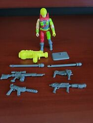 Excellent G.i. Joe 1993 Cyber Vipers V1 Cybernetic Officers Almost Complete
