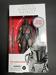 Star Wars The Mandalorian 6 The Black Series Misb 94 First Edition White Box