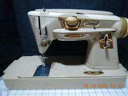 Singer 500a Slantomatic Sewing Machine The Rocketeer Serviced