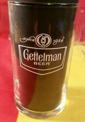 Vintage Gettelman Beer Glass Mid-century 4 Tall Tasting Shell Glass - Excellent