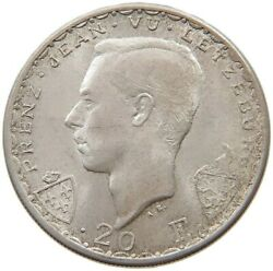 Luxembourg 20 Francs 1946 Top T95 035