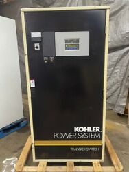600 Amp Kohler Automatic Transfer Switch Ck-566341-600 3 Phase 4 Wire 480 Vac