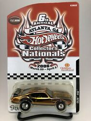 Hot Wheels Old 442 Gold 6th Annual Collectors Nationals Charity Car