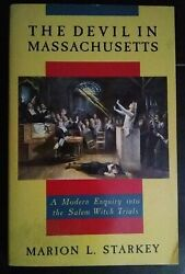 The Devil In Massachusetts By Marion L. Starkey 1989 Paperback Great Condition
