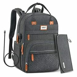 Diaper Bag Backpack Baby Bags with USB Charging PortMultifunctional Large $38.48
