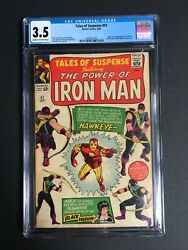 Tales Of Suspense 57 1st Appearance Of Hawkeye Cgc 3.5 2090331016