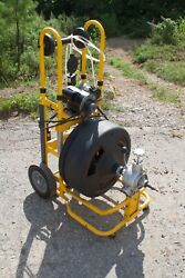 Speedway Portable Drain Cleaner/snake St600 100ft X 3/4