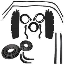 Body Weatherstrip Kit Compatible With 1950 Chevy Oldsmobile Pontiac Hardtops