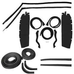 Body Weatherstrip Kit Compatible With 1950-1951 Chevy Oldsmobile Pontiac Hardtop