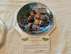 M.j. Hummel Vintage 1990 Hello Down There Decorative Collector Plate R5801