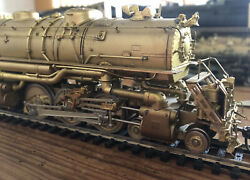 Ho Brass Locomotive 4-6-6-4 Western Pacific Challenger Key Imports
