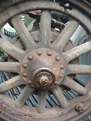 Antique Wooden Spoke Wheels And Axles 1926, 1927, 1928 Buick Standard