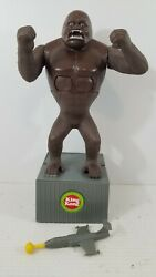 Vintage 1976 Mego King Kong Against The World Playset 46 Tall Complete Pg109c