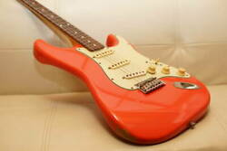 Fender Japan St62txsp Frd Fiesta Red Fender Red Relic Relic Ultra-thin Lacquer R