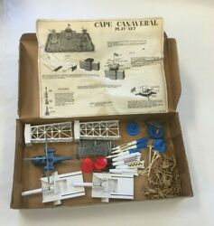Vintage Marx Project Mercury Cape Canaveral Play Set No. 4524 With Box