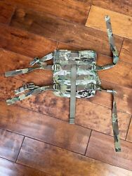 Multicam Side Plate Dual Use Military Accessory Pouch Pack Usa Eagle Industries