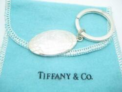 And Co. Sterling Silver Globe World Key Ring - Pouch - A