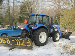 Western 9' Snow Plow, Tractor 3 Pt. Hitch, Good Condition, Price Drop