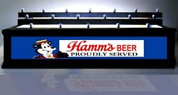 Hamms Beer Tap Handle Display W/ Led Lighted Bar Sign Holds 18 Taps Lights Up