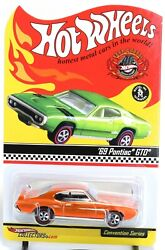 Hot Wheels 2008 22nd Convention And03969 Pontiac Gto 1 Of 3000