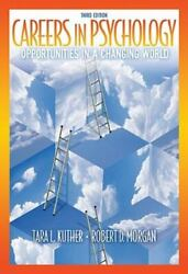 Careers in Psychology: Opportunities in a Changing World Paperback VERY GOOD